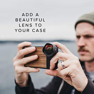 iPhone X Case || Moment Photo Case in Walnut Wood - Thin, Protective, Wrist Strap Friendly case for Camera Lovers.