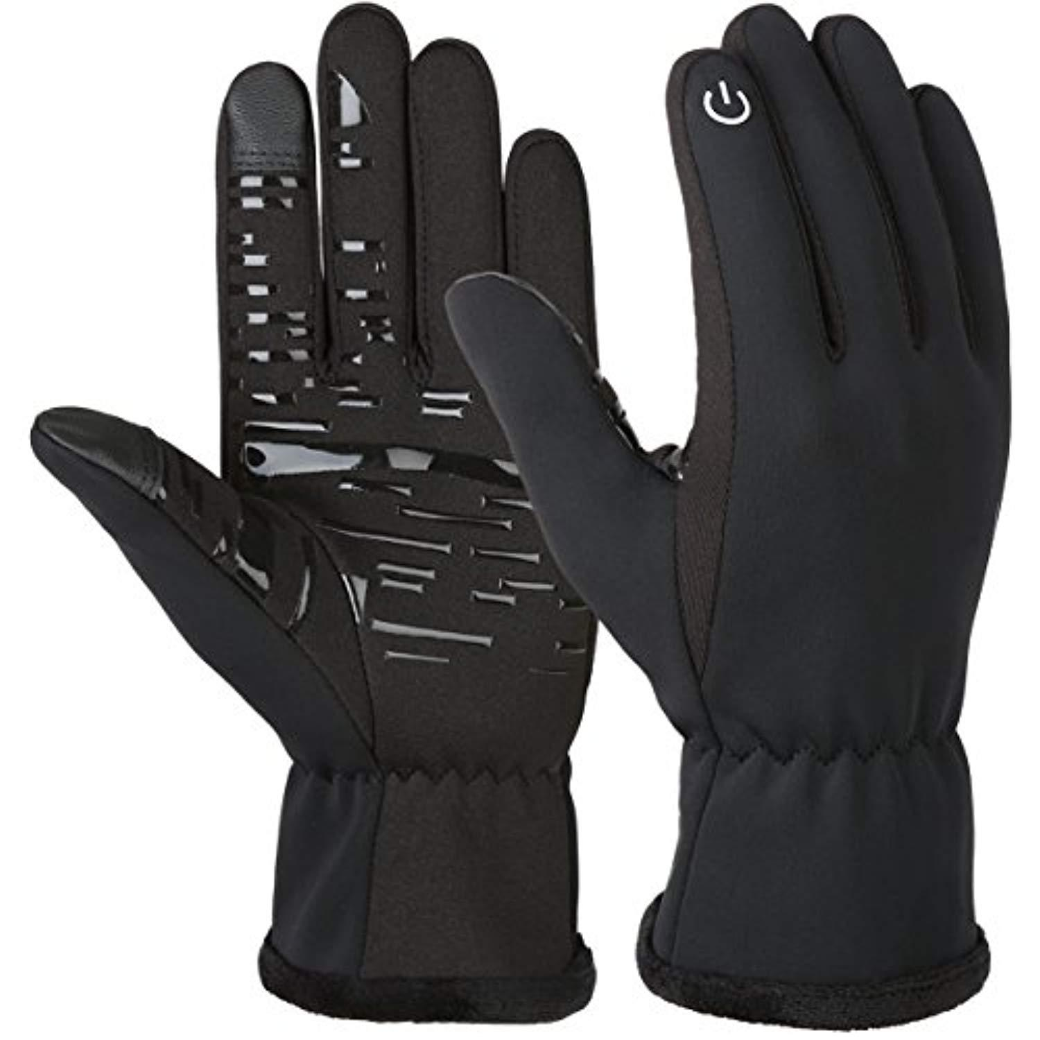 Mens Gloves Womens Unisex Cycling Solid Gloves Casual Stylish Touch screen