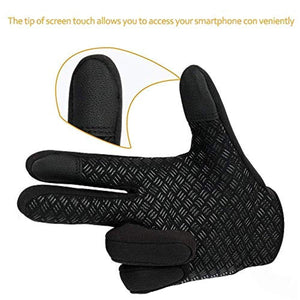 JIUBAK Touch Screen Gloves, Running Driving Gloves, Winter Gloves