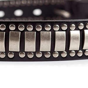 Stylish Black Studded Belt