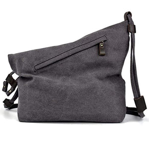 COOFIT Canvas Bag for Women Crossbody Bag Messenger Bag Shoulder Bag Hobo Bag Unisex