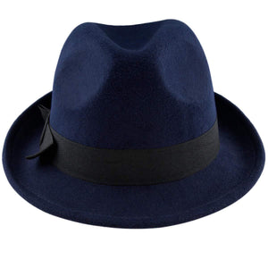 Samtree Fedora Hats for Women,Winter Roll-up Brim Trilby Jazz Cap