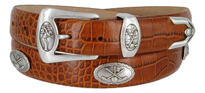 BC3109- Italian Calfskin Leather Designer Golf and Dress Belt For Men