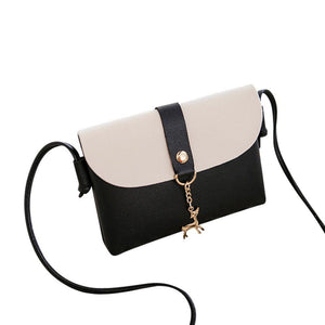 BCDshop Women Small Crossbody Shoulder Bag,GILR Deer Pendant Faux Leather Wallet Coin Purse