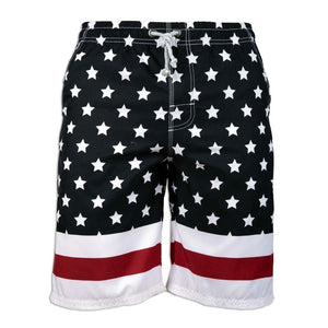 Prefer To Life Men's Board Shorts, Quick Dry Swimwear Beach Holiday Party Bermuda Swim Big Pants