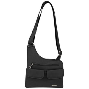 Travelon Luggage Anti-Theft Cross-Body Bag, Black