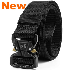 Fairwin Tactical Belt, 1.5 Inch Wide Heavy Duty Military Style Gun Belt for Concerled Carry -CCW Blet