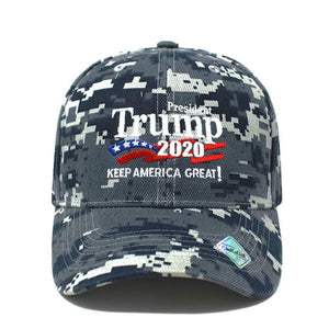 ChoKoLids Trump 2020 Keep America Great Campaign Embroidered USA Hat | Baseball Bucket Trucker Cap Black