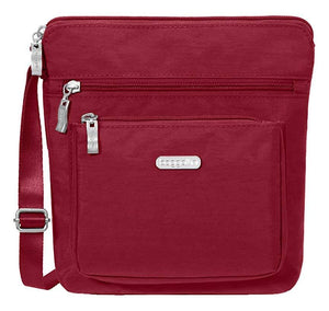 Baggallini Pocket Crossbody Bag With RFID-Protected Wristlet