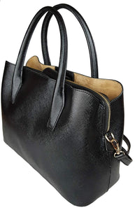 2019 NEW | LAUNCH SALE | Women's Spacious Medium Sized Vegan Leather SOPHISTICATED Tote Satchel Structured Handbag