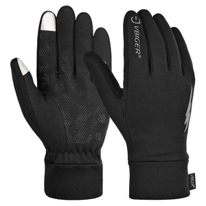 VBG VBIGER Winter Gloves Touch Screen Driving Gloves Anti-slip Cycling Gloves Warm Fleece Gloves for Men Women