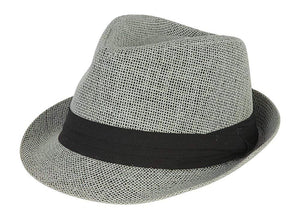 Hatter The Co. Tweed Classic Cuban Style Fedora Fashion Cap Hat