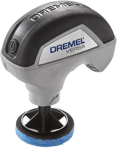 Dremel PC10-01 Versa Cleaning Tool- Grout Brush- Bathroom Shower Scrub- Kitchen and Bathtub Cleaner- Power Scrubber for Tile, Pans, Stoves, Tubs, Sinks Auto, and Grills-
