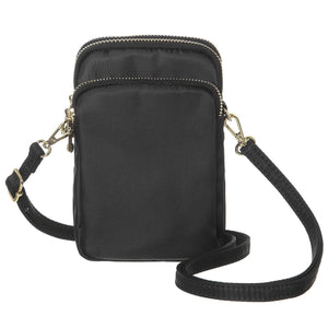 MINICAT Nylon Small Crossbody Cell Phone Purse Bag Smartphone Wallet For Women