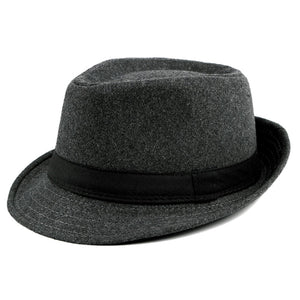 Ayliss Trilby Fedoras Panama Jazz Hat Short Brim Bowler Hat for Men/Women