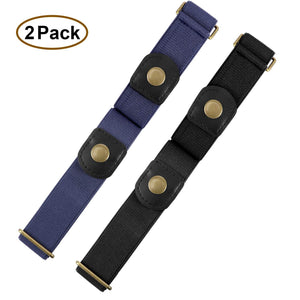Buckle Free Women Stretch Belt Plus Size No Buckle/Show Invisible Belt for Jeans Pants Dresses