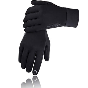 SIMARI Winter Gloves for Men Women,Keep Warm Touch Screen Windproof Cold Weather Gloves for Cycling Running SMRG102