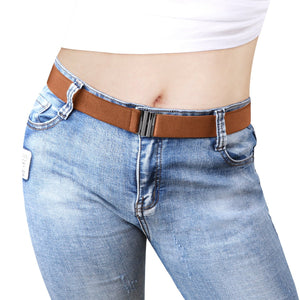 Womens Invisible Belt Comfortable Elastic Adjustable No Show Web Belt For Women Or Men By JASGOOD