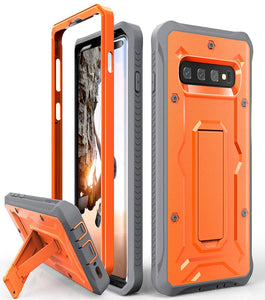Galaxy S10+ Plus Heavy Duty Case - ArmadilloTek Vanguard Series Military Grade Rugged Case with Kickstand for Samsung Galaxy S10+ Plus [Not S10 or S10e] - Black