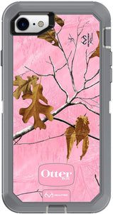 OtterBox Defender Series Case for iPhone 8 and iPhone 7 (NOT Plus) - Case Only - Non-Retail Packaging - Realtree Pink