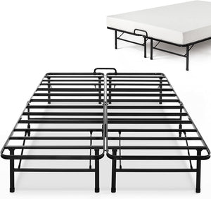 Zinus 14 Inch SmartBase Select with Mattress Stopper / Mattress Foundation / Platform Bed Frame / Box Spring Replacement, Queen