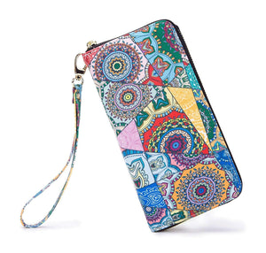 LOVESHE Women's New Design Bohemian Style Purse Clutch Bag Card Holder New Fashion