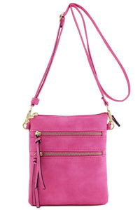 Functional Multi Pocket Crossbody Bag