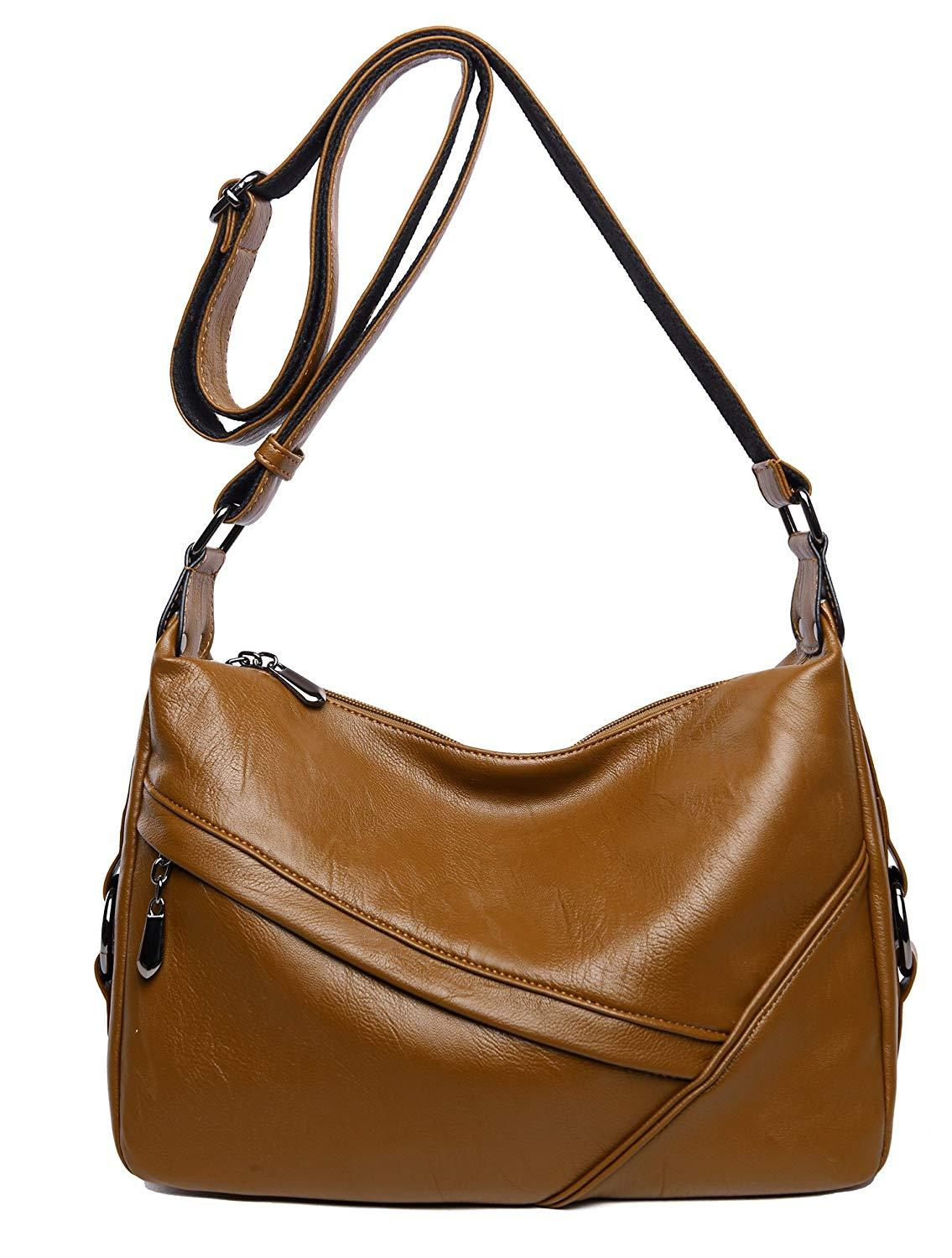 Image result for A sling shoulder bag with two sides open slots
