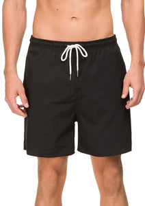 Janmid Mens Slim Fit Quick Dry Short Swim Trunks with Mesh Lining
