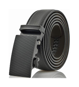 Gallery Seven Mens Leather Ratchet Belt - Adjustable Click Belt for Men