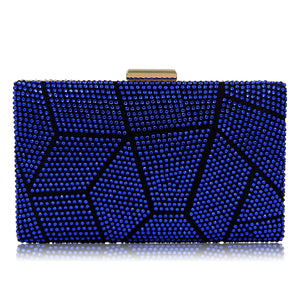 Women Clutches Crystal Evening Bags Clutch Purse Party Wedding