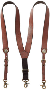 Nocona Belt Co. Men's Shot Shell Leather Suspender