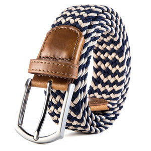 "Weifert Men's Stretch Woven 1.3""Wide Elastic Braided Belts"