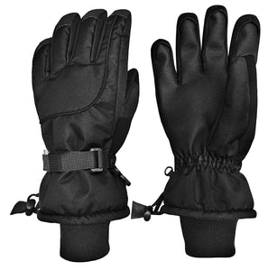 N'Ice Caps Men's and Women's 100 Gram Thinsulate Waterproof Ski Mittens and Gloves