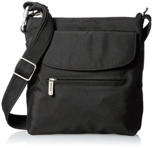 Travelon Anti-Theft Classic Mini Shoulder Bag, Black, One Size