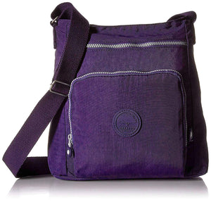 Oakarbo Nylon Crossbody Purse Multi-Pocket Travel Shoulder Bag