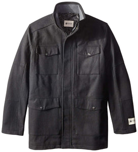 Haggar Men's Big & Tall Brighton Military Four-Pocket Jacket