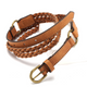 Women's Wild Woven Decorative Belts Women's Jeans Belt Korean Fashion Casual Jokers