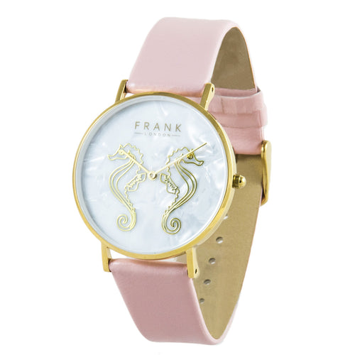 Frank - Sea Horse Pink (Yellow)