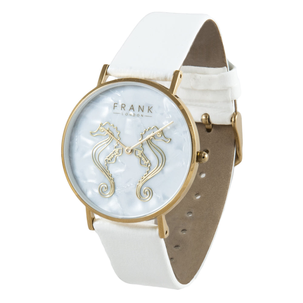 Frank  - Sea Horse - Rose Gold