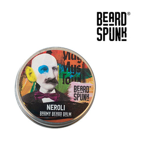Beard Spunk ® NEROLI Barmy Beard Balm 30ml. Beard Spunk Beard Oil & Moustache Grooming Kits