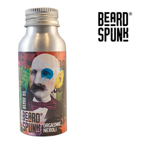 Beard Spunk ® SPECIAL EDITION NEROLI Premium Beard & Moustache Oil 50ml. Beard Spunk Beard Oil & Moustache Grooming Kits