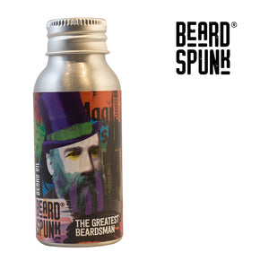 Beard Spunk ® SPECIAL EDITION PEPPERMINT & SWEET ORANGE Premium Beard & Moustache Oil 50ml. Beard Spunk Beard Oil & Moustache Grooming Kits