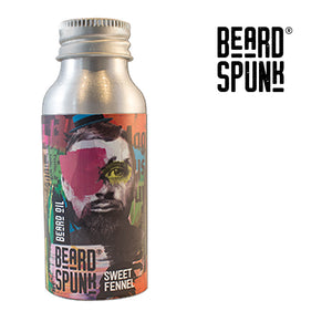 Beard Spunk ® SPECIAL EDITION SWEET FENNEL Premium Beard & Moustache Oil 50ml. Beard Spunk Beard Oil & Moustache Grooming Kits