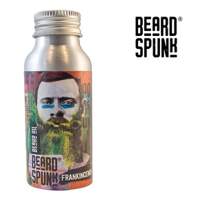 Beard Spunk ® SPECIAL EDITION FRANKINCENSE Premium Beard & Moustache Oil 50ml. Beard Spunk Beard Oil & Moustache Grooming Kits