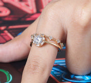 Sparkling Couple Ring