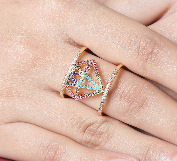 Wonder Women Pave Ring