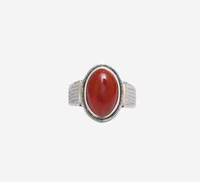 Antique Zirconia Sterling Silver Ring