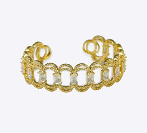 Buy Golden Women Bracelets Online in Pakistan