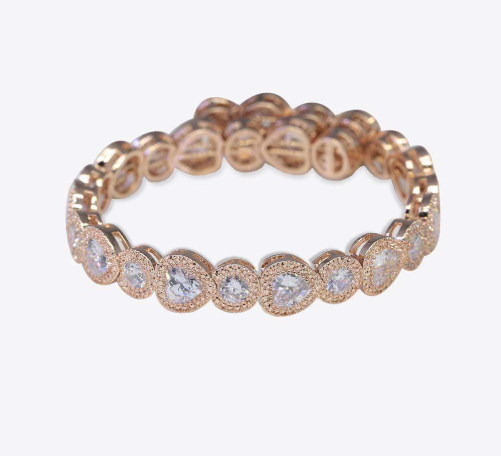 Rose Gold Women Bracelet Online in Pakistan